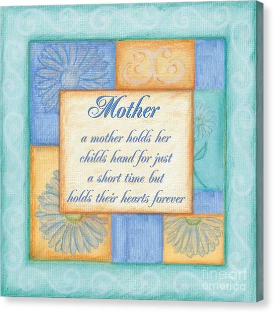Mom Canvas Print - Mother's Day Spa by Debbie DeWitt
