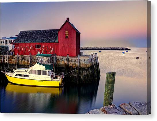 Motif No. 1 On Bearskin Neck Canvas Print