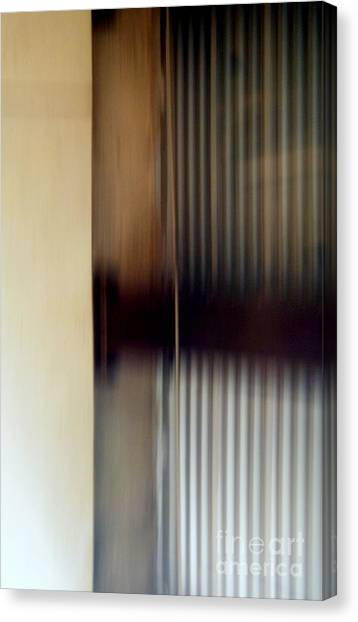 Motion-from A Rolling Train Canvas Print