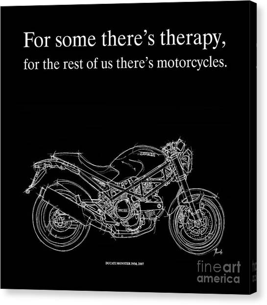 Motorcycle Quotes | Motorcycle Quote 1 Ducati Monster Drawing By Drawspots Illustrations