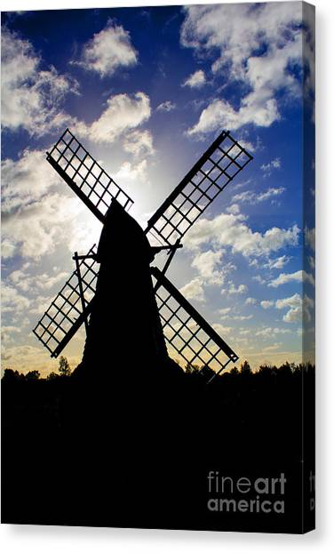 Moulin Noir Canvas Print