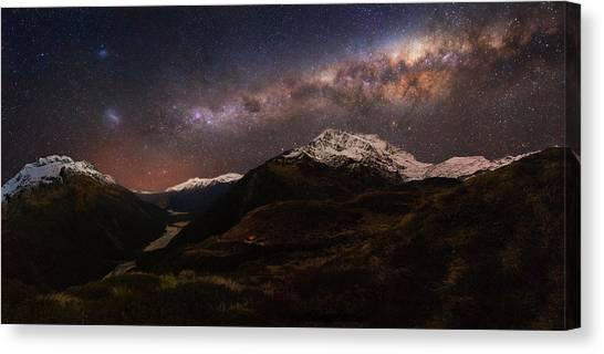 New Zealand Canvas Print - Mount Aspiring - Liverpool Hut by Yan Zhang