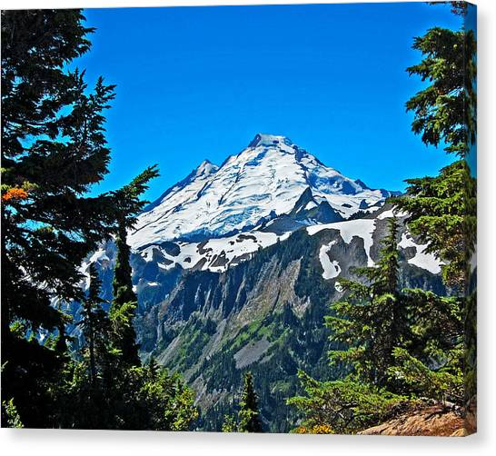 Canvas Print - Mount Baker Washinton by Randall Templeton
