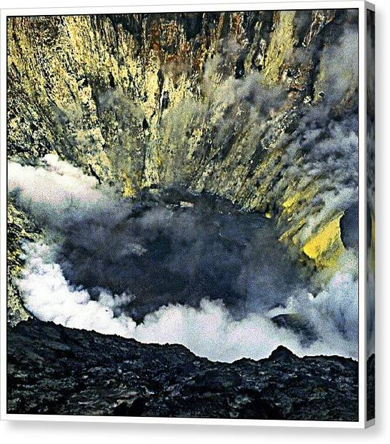 Volcanoes Canvas Print - Mount Bromo Indonesia by Hans Fotoboek