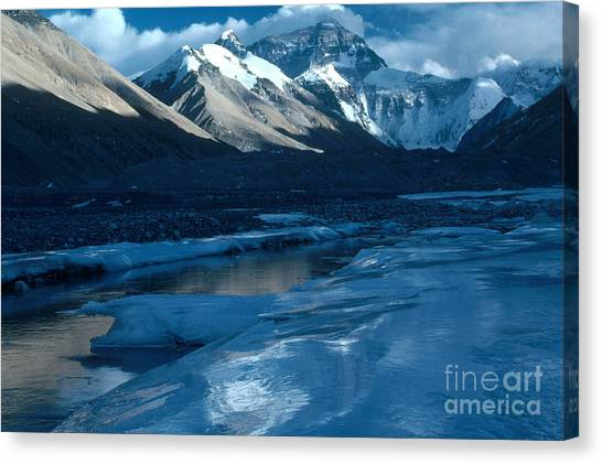 Mount Everest Canvas Print - Mount Everest by Art Wolfe