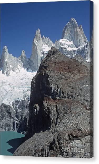 Mount Fitzroy Patagonia Canvas Print