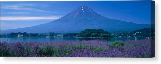 Mount Fuji Canvas Print - Mount Fuji Japan by Panoramic Images