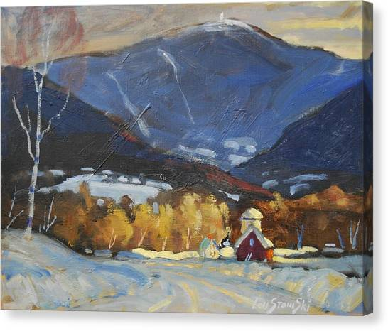 Mount Greylock From Williamstown Canvas Print
