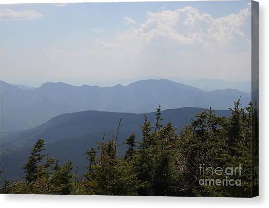 Mount Hancock Summit View Canvas Print