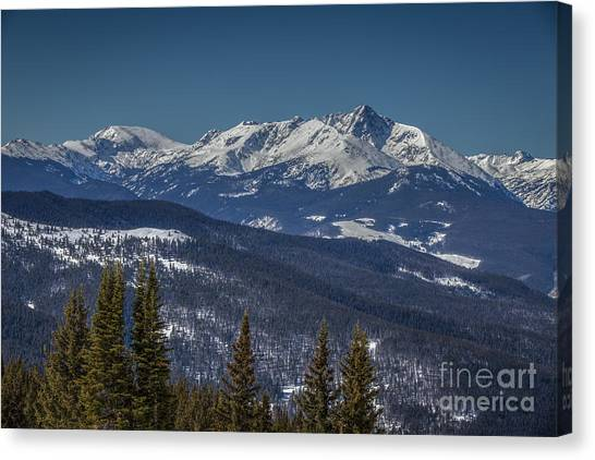 Mount Holy Cross Canvas Print