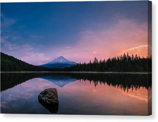Mount Hood Magic Canvas Print