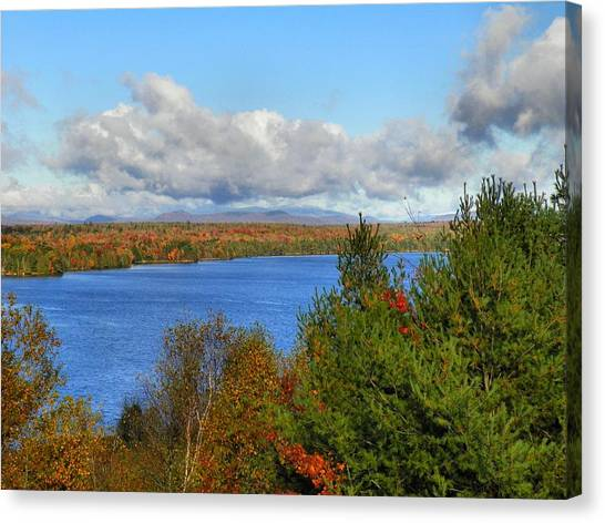 Mount Katahdin Autumn 18 Canvas Print