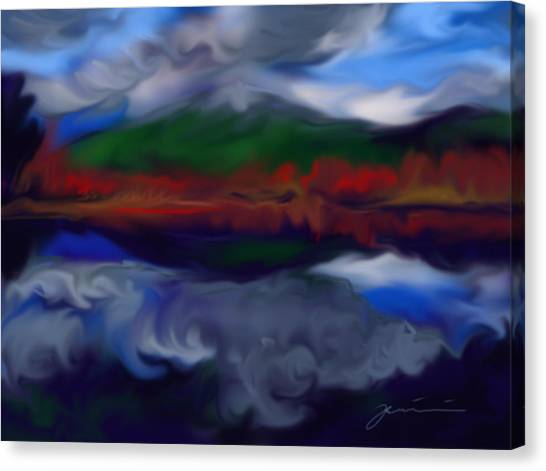 Mount Monadnock Canvas Print