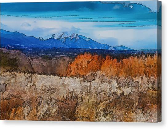 Mount Princeton Canvas Print