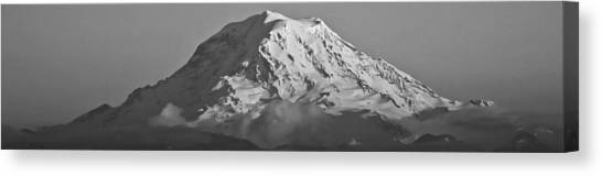Mount Rainier Landscape Canvas Print