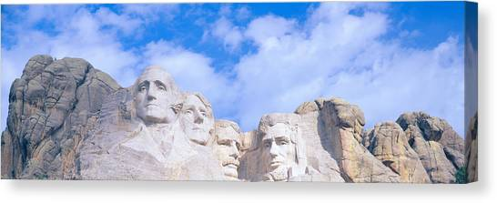 Democratic Presidents Canvas Print - Mount Rushmore, South Dakota by Panoramic Images