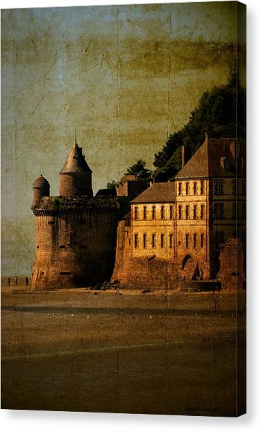 Mount St Michael's Tower Canvas Print