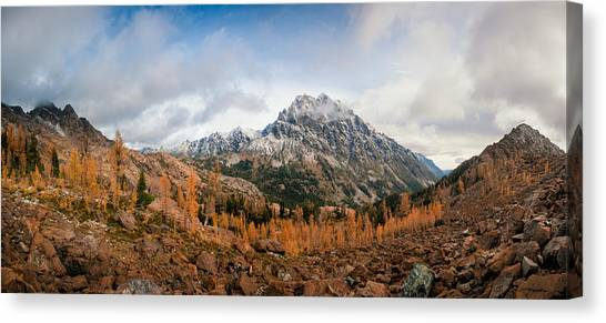 Mount Stuart Panorama Canvas Print