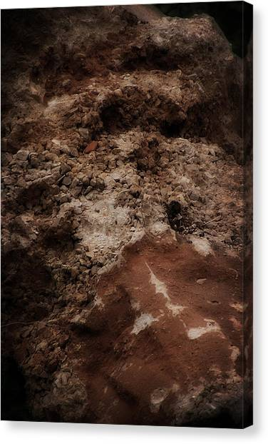 Junk Canvas Print - Mount Trashmore - Series X by Doc Braham