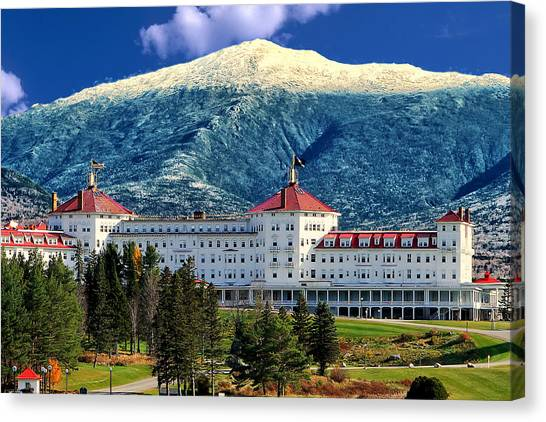 Featured Images Canvas Print - Mount Washington Hotel by Tom Prendergast