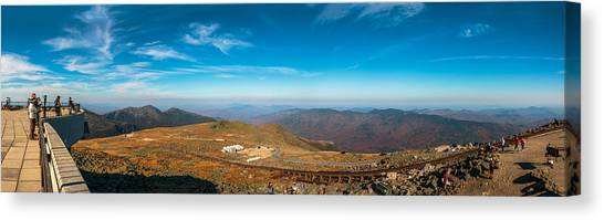 Mount Washington Observatory Canvas Print by Andre Albert