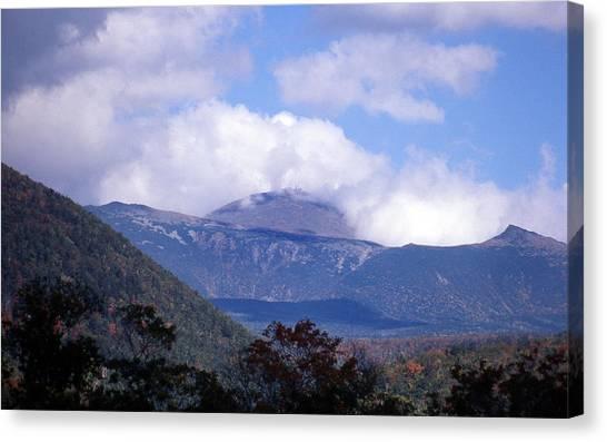 New Hampshire Canvas Print - Mount Washington by Skip Willits