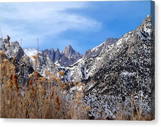 Mount Whitney - California Canvas Print