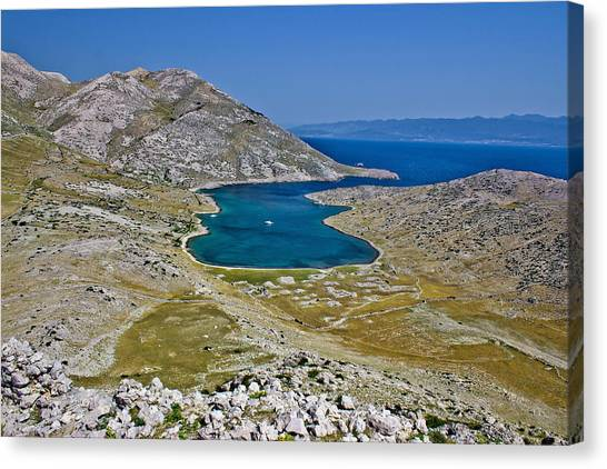 Drywall Canvas Print - Mountain And Sea Dreamscapes by Brch Photography