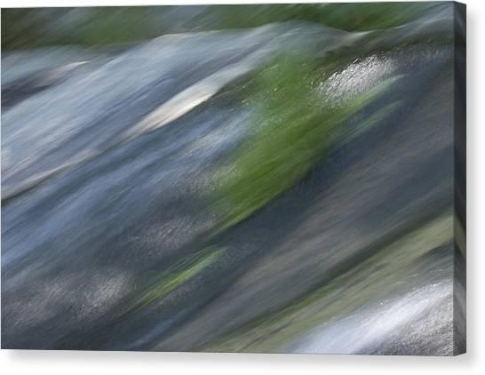 Mountain Cascade 2 Canvas Print