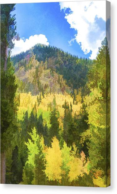 Mountain Colors Canvas Print