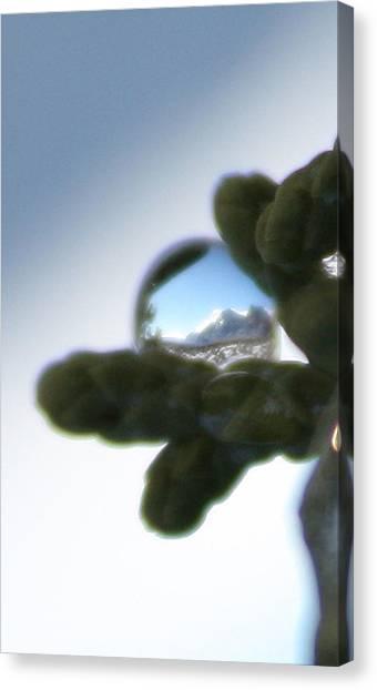 Mountain Dew Drop Canvas Print