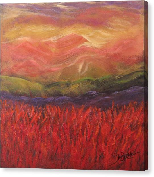 Mountain Dreams Canvas Print