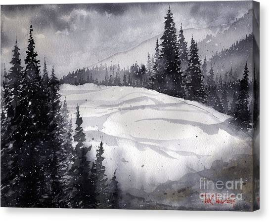 Mountain Drift Canvas Print