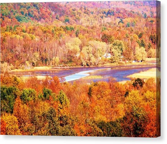 Mountain Foliage Series 010 Canvas Print