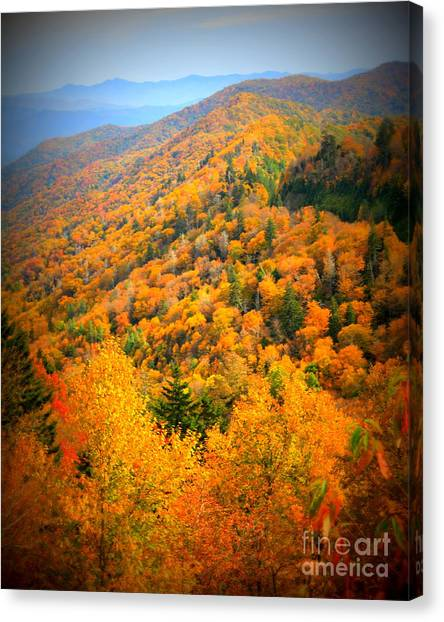 Mountain Glory Canvas Print