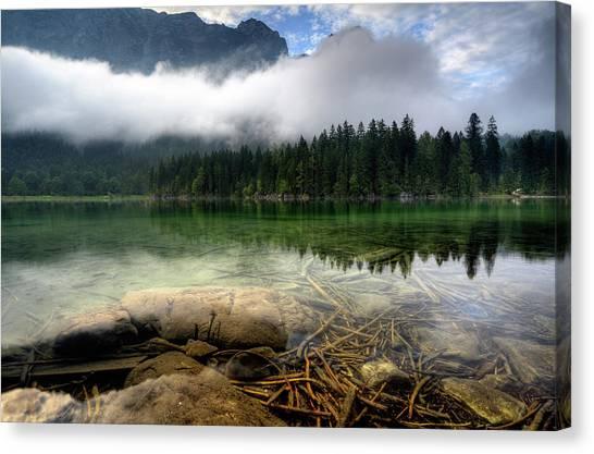 Mountain Lake Canvas Print by