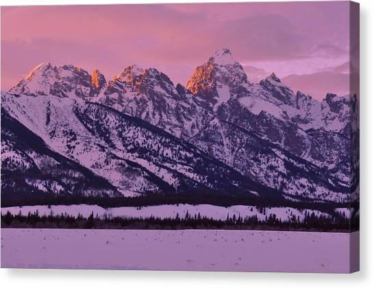 Mountain Light Canvas Print