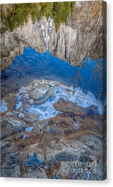 Mountain Mirror Canvas Print
