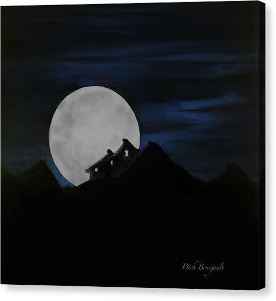 Mountain Monastery Canvas Print
