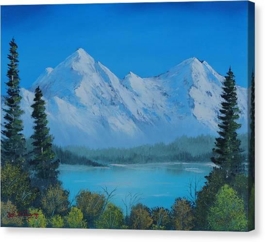 Mountain Outlook Canvas Print