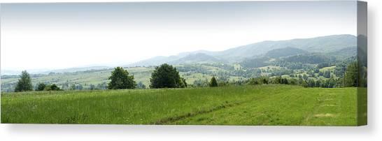 Mountain Panorama Canvas Print