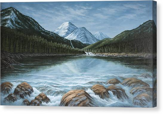 Mountain Paradise Canvas Print