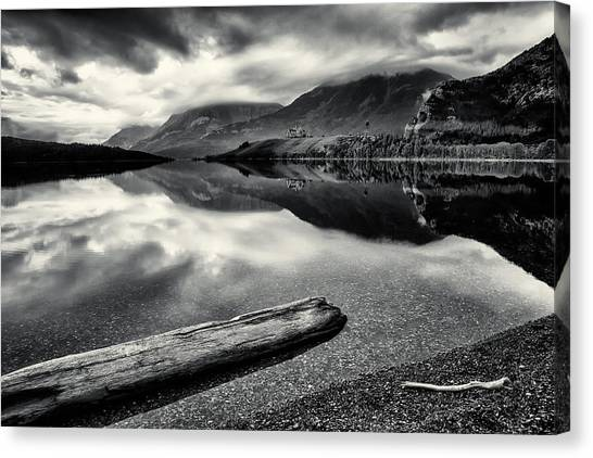 Mountain Prince In Bw 2 Canvas Print