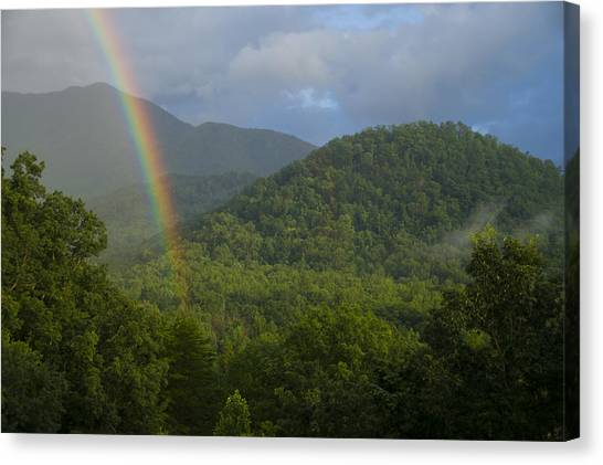 Mountain Rainbow 2 Canvas Print