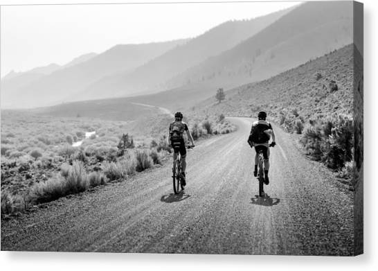 Mountain Riders Canvas Print