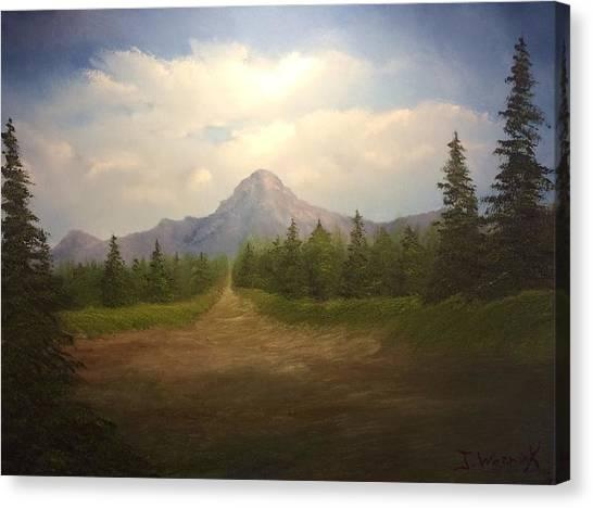 Mountain Run Road  Canvas Print