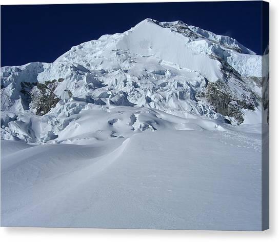 Glaciers Canvas Print - Mountain Sky by Brian Larson