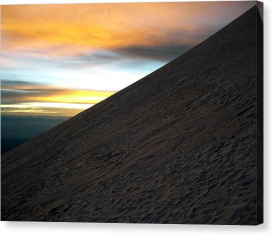 Glaciers Canvas Print - Mountain Sunrise by Brian Larson