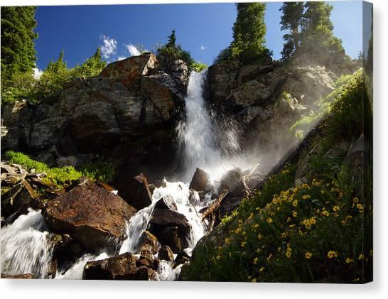 Mountain Tears Canvas Print