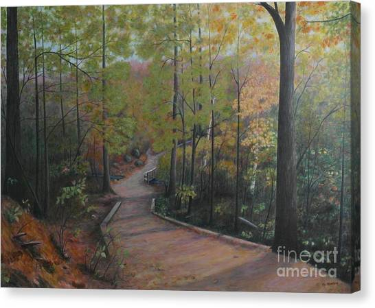 Mountain Trail Canvas Print